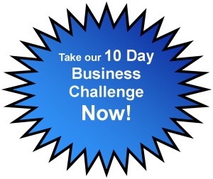 business challenge button